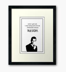 Barney Stinson Best Phrases Framed Print