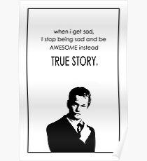 Barney Stinson Best Phrases Poster