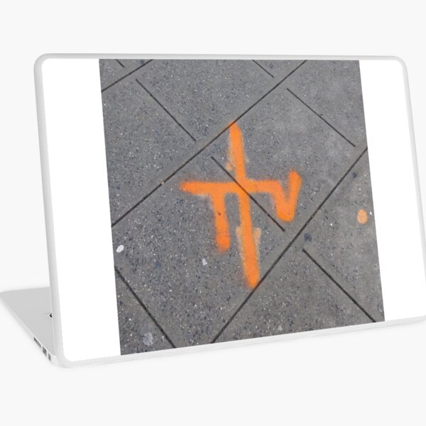 Street, City, Buildings, Photo, Day, Trees Laptop Skin