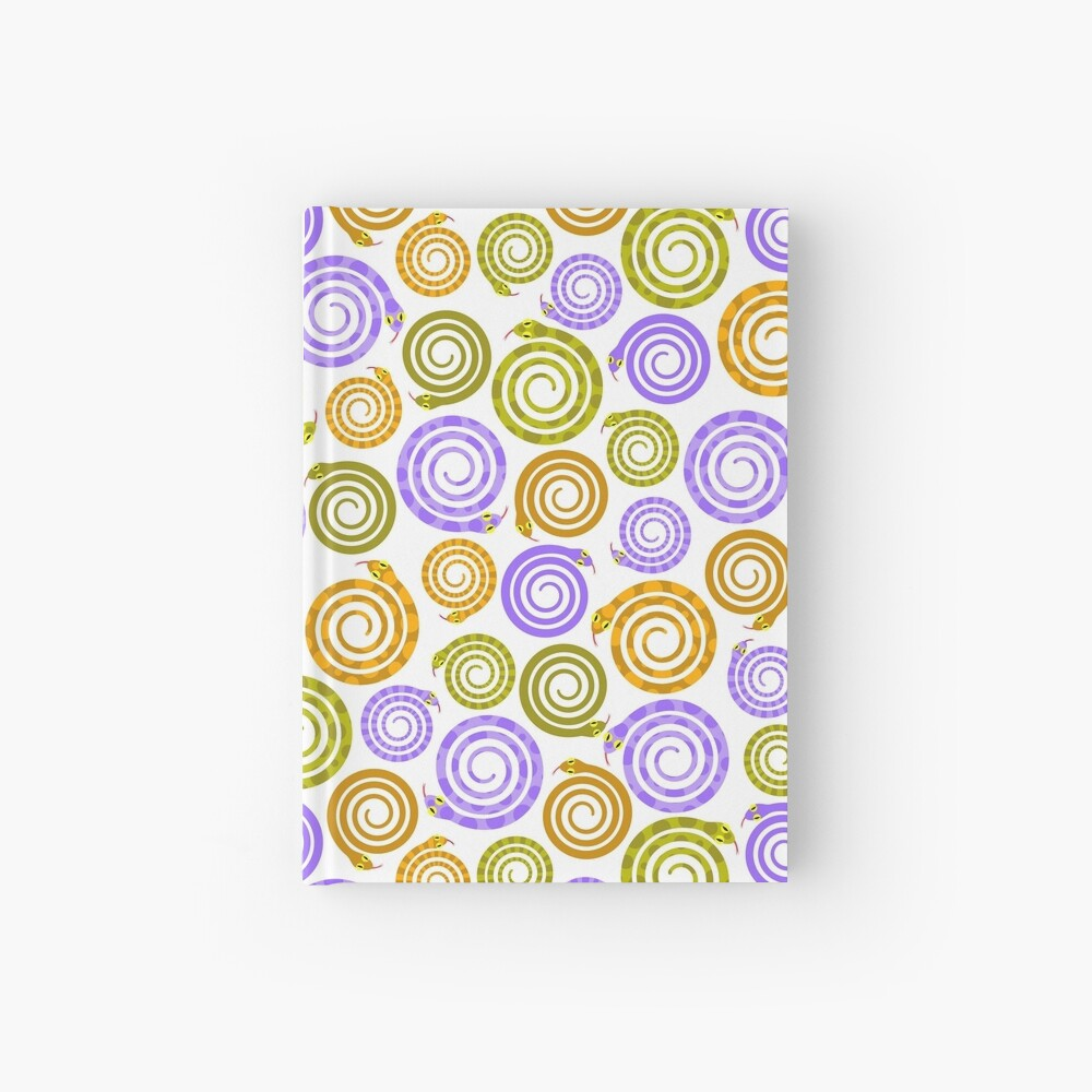 Mesmerizing snakes Hardcover Journal