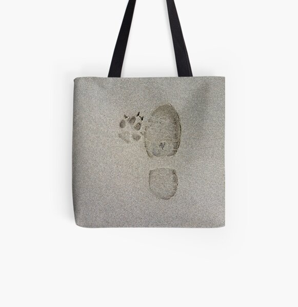 PillowPaws: Feet All Over Print Tote Bag