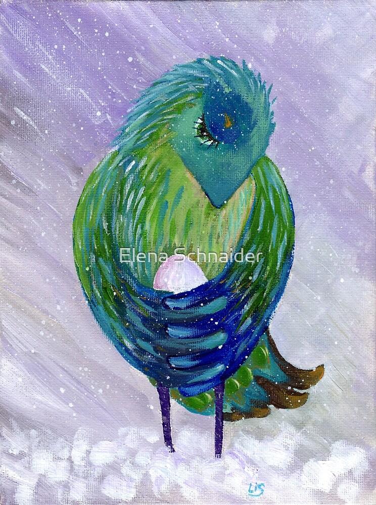Bird Brings Good Luck. Mother by Elena Schnaider