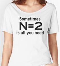 Statistics  Women's Relaxed Fit T-Shirt