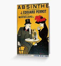 Vintage poster - Absinthe Greeting Card