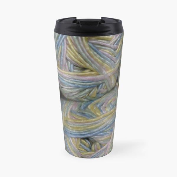 Bundles of Pastel Yarn Travel Mug