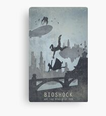 Bioshock Infinite Poster Canvas Print