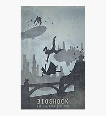 Bioshock Infinite Poster Photographic Print