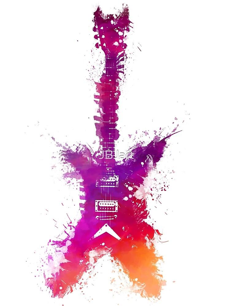 Purple Guitar by JBJart