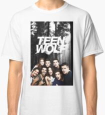 Teen Wolf - Logo and Cast Classic T-Shirt