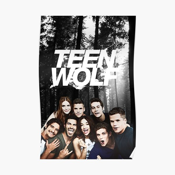 Teen Wolf - Logo and Cast Poster