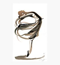 Ballet Dance Drawing Photographic Print