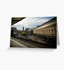 manchester piccadilly station Greeting Card
