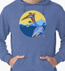 Pterosaur Sunset (Light Version) Lightweight Hoodie
