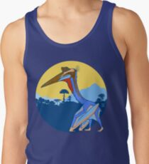 Pterosaur Sunset (Light Version) Tank Top