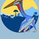 Pterosaur Sunset (Light Version) by Raven Amos