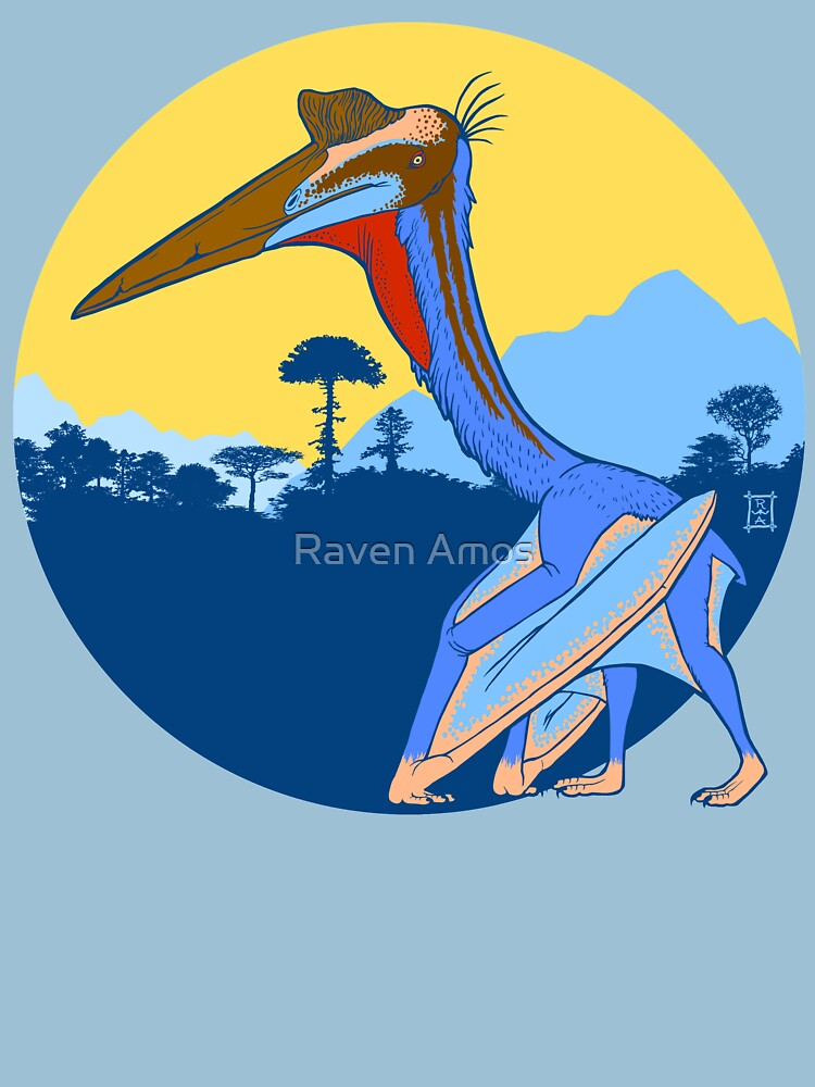 Pterosaur Sunset (Light Version) by alaskanime
