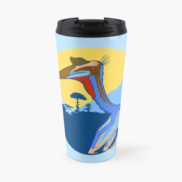 Pterosaur Sunset (Light Version) Travel Mug