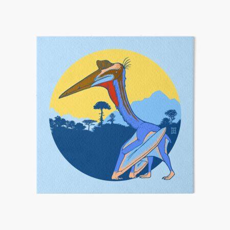 Pterosaur Sunset (Light Version) Art Board Print