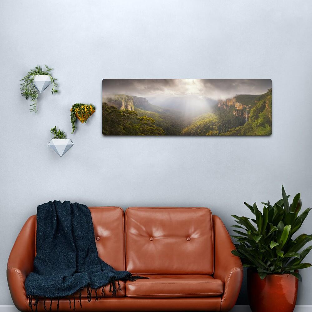 Govetts Leap Awakens, Blue Mountains, New South Wales, Australia Metal Print
