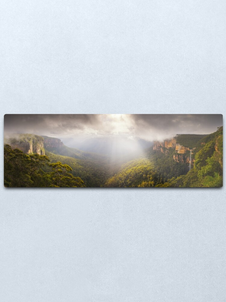 Alternate view of Govetts Leap Awakens, Blue Mountains, New South Wales, Australia Metal Print