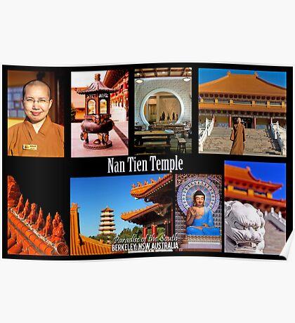 Nan Tien Temple postcard Poster