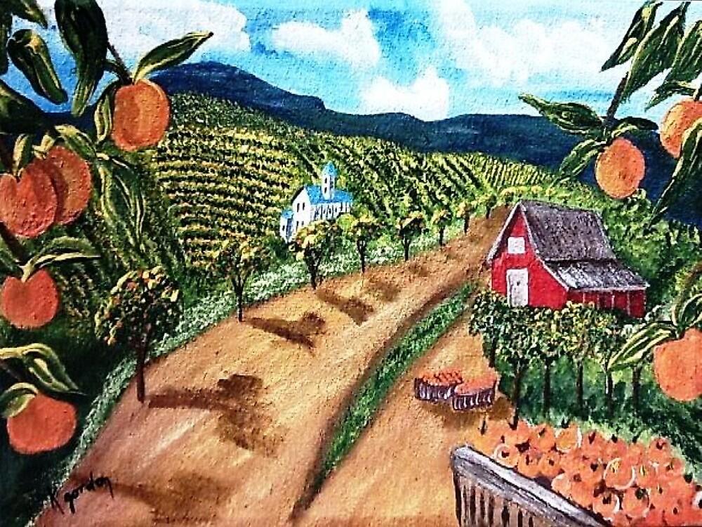 The Orange Grove by WhiteDove Studio kj gordon