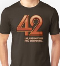 Forty-Two Unisex T-Shirt