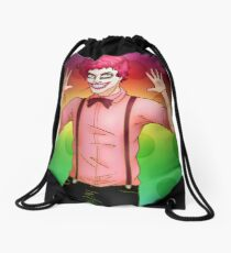 Wiggles the Clown Drawstring Bag