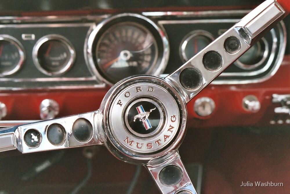 Steering Wheel by Julia Washburn