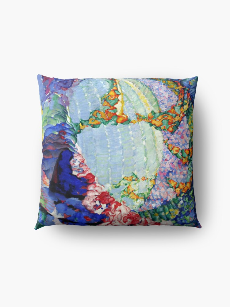 Alternate view of Abstract Abstract Abstract Floor Pillow