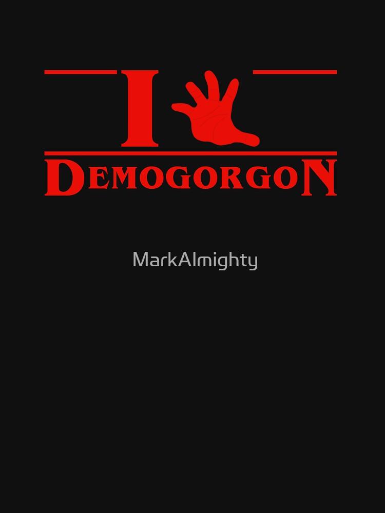 I (hand) Demogorgon by MarkAlmighty