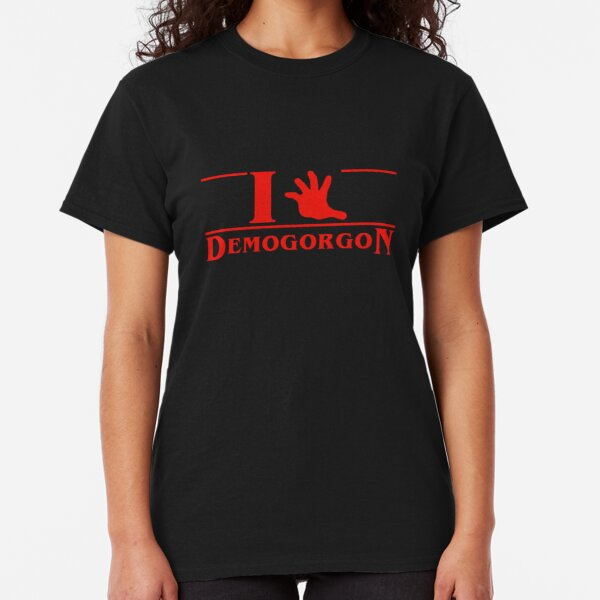 I (hand) Demogorgon Classic T-Shirt