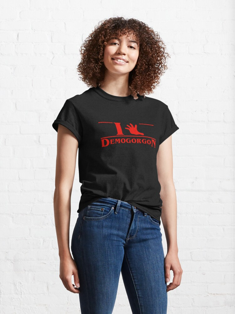 Alternate view of I (hand) Demogorgon Classic T-Shirt