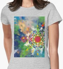 Abstract Geometry Women's Fitted T-Shirt