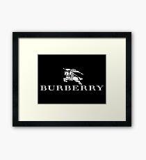 Burberry Merchandise Framed Print