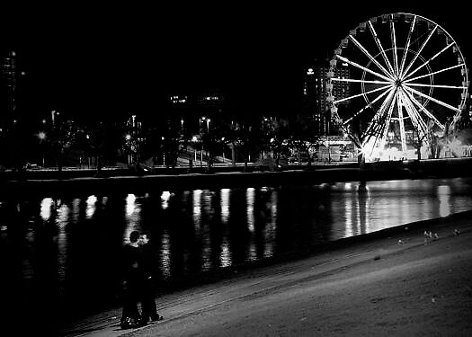 The ferris wheel of love by Gabriella Surace