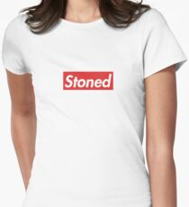 Stoned Supreme Design Women's Fitted T-Shirt