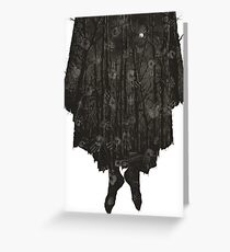 Blair Witch Project Greeting Card