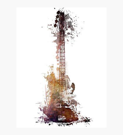 Nostalgy guitar  Photographic Print