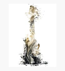 Blues guitar Photographic Print