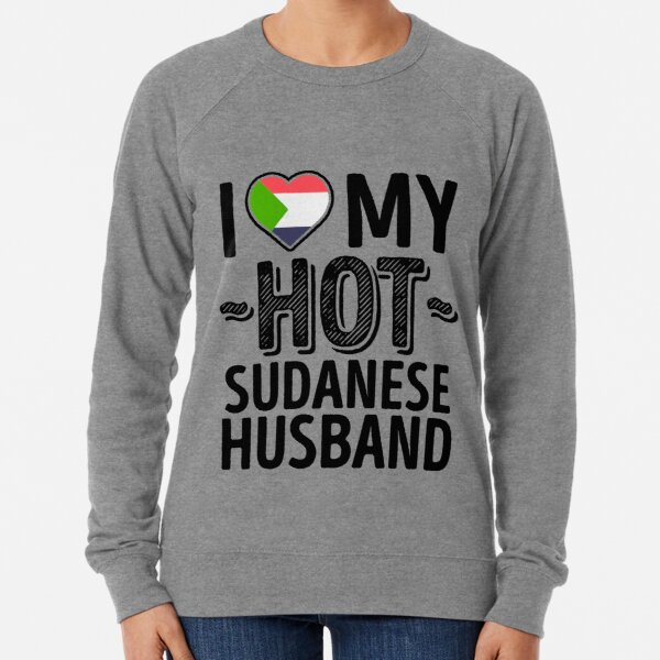 I Love Heart Sudan Ladies T-Shirt