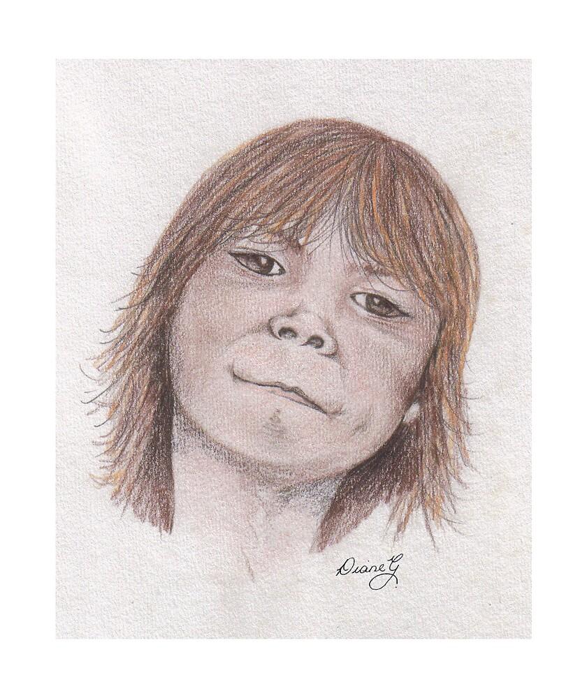 aboriginal child by juicybark