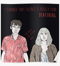 Deafening The End Of The Fxxxing World Poster