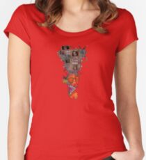 EEKED WENGO HEAD  Women's Fitted Scoop T-Shirt