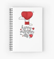 Cuaderno de espiral Happy Valentine Day