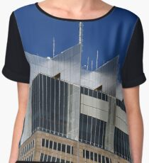 Architecture Abstract 4 Chiffon Top