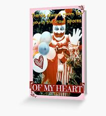 Most (Un)Wanted Valentines: GACY Greeting Card