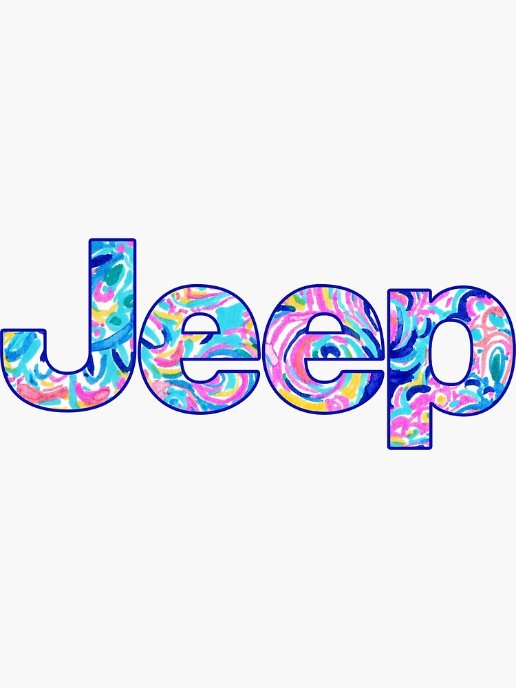 Jeep Lilly Pullitzer de livpaigedesigns