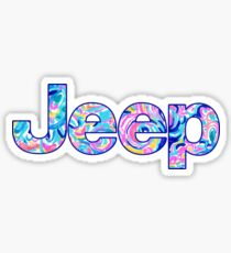 Jeep Lilly Pullitzer Sticker