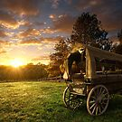 Painted Wagon by Carl Green